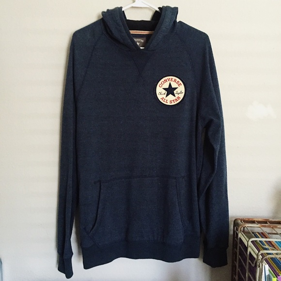 732129d8fe610 Converse Chuck Taylor Hooded Pullover Sweater